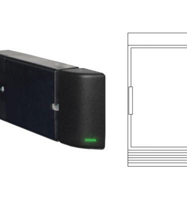 single-door-cooler-lineart