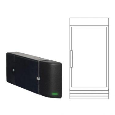 single door cooler/freezer archives freshiq lock